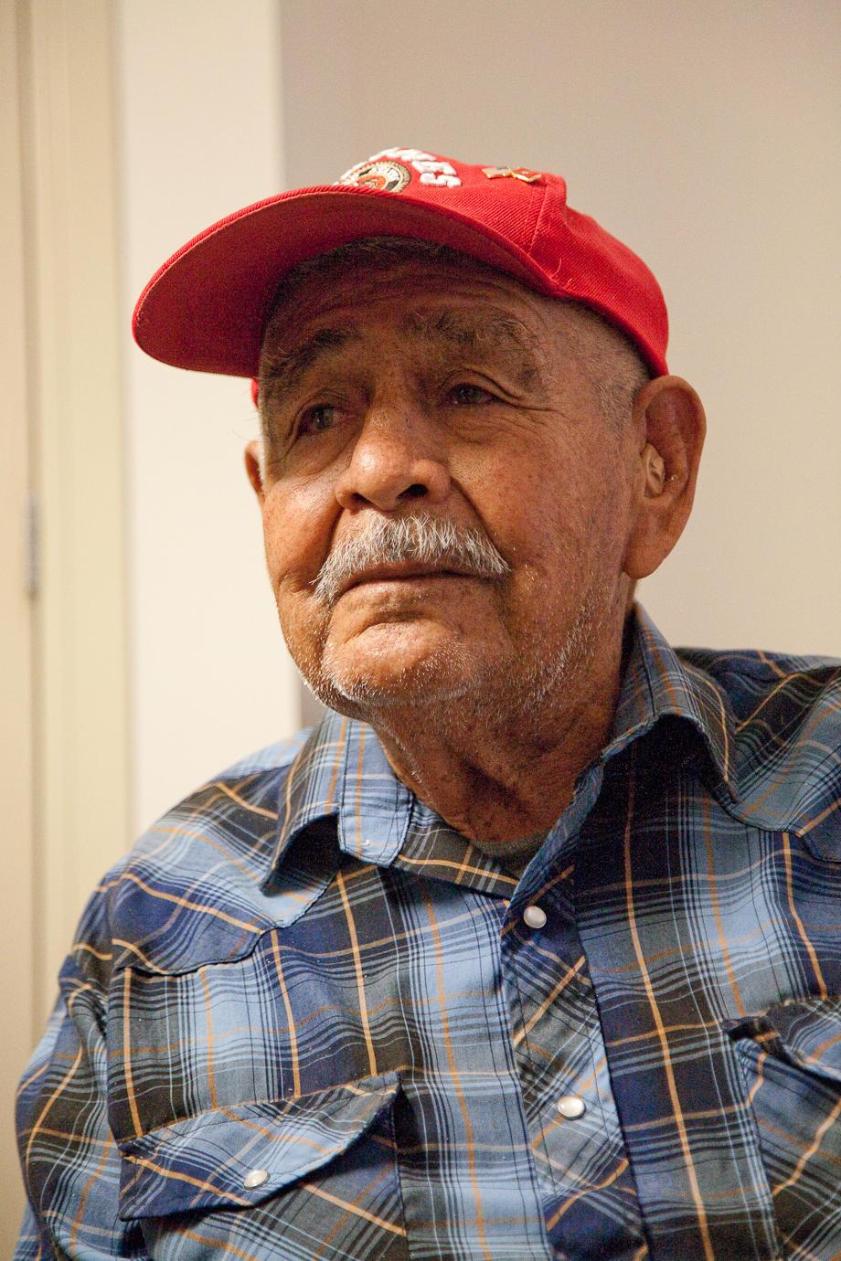 Navajo Code Talker Edward Anderson
