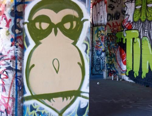 Here:me (Graffiti at Flint Ink)
